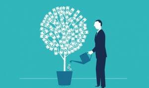 kaip uzdirbti pinigus be pradinio kapitalo